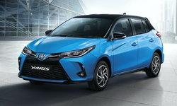 ราคารถใหม่ Toyota ในตลาดรถประจำเดือนธันวาคม 2563