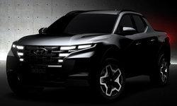 Hyundai Santa Cruz 2021 ใหม่ กระบะดีไซน์เฉียบจ่อเปิดตัวจริงครั้งแรก 15 เมษายนนี้