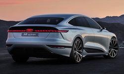 Audi A6 e-tron ใหม่ ต้นแบบรถไฟฟ้าดีไซน์เฉียบเผยโฉมที่งาน Auto Shanghai 2021