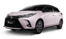 เปิดสเปก Toyota Yaris PLAY และ ATIV PLAY 2021 ใหม่ พร้อมตัวถังสีชมพูจำกัดเพียง 1,500 คัน