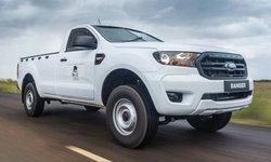 """Ford Ranger 2021 ใหม่ เปิดตัวรุ่น """"กันกระสุน"""" สำหรับตลาดแอฟริกาใต้โดยเฉพาะ"""