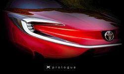 Toyota X Prologue เผยทีเซอร์ก่อนเปิดตัวจริง 17 มีนาคมนี้ที่ยุโรป