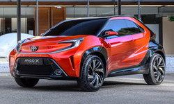 Toyota Aygo X Prologue ใหม่ ต้นแบบครอสโอเวอร์รุ่นเล็กคาดเปิดตัวปี 2022 นี้