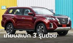 เทียบสเปก Nissan Terra 2021 ใหม่ ทั้ง 3 รุ่นย่อย รุ่นไหนน่าใช้กว่ากัน?
