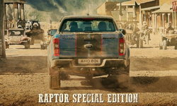 Ford Ranger Raptor Special Edition 2021 ใหม่ เผยทีเซอร์รุ่นพิเศษก่อนเปิดตัวที่ยุโรป