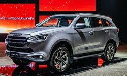 ราคารถใหม่ Isuzu ในตลาดรถยนต์ประจำเดือนมิถุนายน 2564