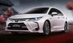 Toyota Corolla Altis 2022 ใหม่ เพิ่มชุดแต่ง Nurburgring เคาะราคา 42,000 บาท