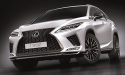 Lexus RX 2022 ใหม่ เพิ่มไฟสูงออโต้ Blade Scan ราคาเริ่ม 4,250,000 บาท