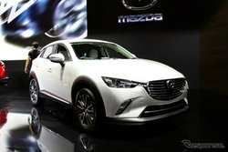 Mazda CX-3 ใหม่ เปิดตัวแล้วในงาน Los Angeles Auto Show 2014