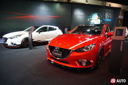 เผยโฉม Mazda3 Clubsport Concept ที่งานออโต้ซาลอน 2015