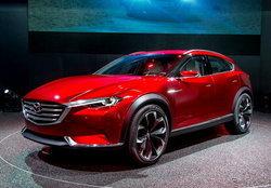 Mazda KOERU ต้นแบบครอสโอเวอร์รุ่นล่าสุดเผยโฉมแล้วที่งานแฟรงค์เฟิร์ตมอเตอร์โชว์ 2015