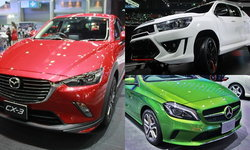 สรุป 10 อันดับยอดขายรถยนต์จากงาน Motor Expo 2015