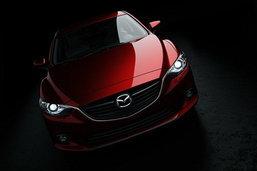 เผยภาพใหม่ว่าที่ 2014 Mazda 6