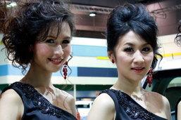 พริตตี้ Motor Show 2010 - Isuzu