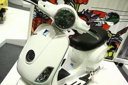 รถมอเตอร์ไซต์ Motor show 2010 -VESPA