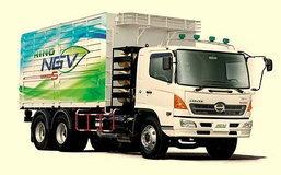 ฮีโน่ รุกตลาด NGV  เปิดตัว 10 ล้อรุ่นใหม่