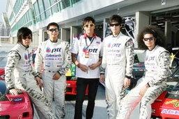 ภาพการแข่งขันFormula Drift @Singapoer 2010