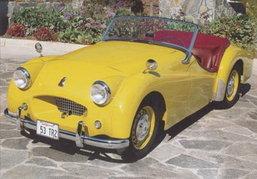 1953 Triumph TR คลาสสิคคาร์ไม่มีวันตาย