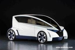 Honda P-NUT Concept จิ๋วแต่แจ๋วคลาสพรีเมียม