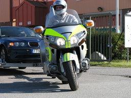 มอเตอร์ไซค์ลากรถ ของเล่นใหม่ของตำรวจเมืองสวีเดน