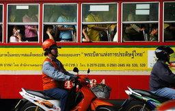 กรมขนส่งฯ วอนอย่าขับรถตัดหน้ากระชั้นชิดรถโดยสารสาธารณะ