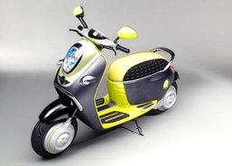 MINI Scooter E Concept สองล้อมหานคร เท่ห์แบบไร้มลพิษ