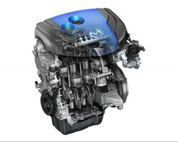 Mazda อวดเทคโนโลยี SKYACTIV ยันมีแน่ 30กม./ลิตร