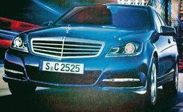 สาวกรถหรูเตรียมใจ Benz เผยโฉม C-Class ใหม่