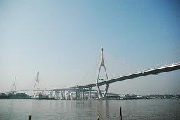 สะพานภูมิพล ..วิสัยทัศน์การคมนาคมจากในหลวง