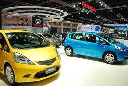 รถยนต์จากบูธ Honda : Motor Expo 2010