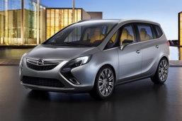 Opel Zafira concept... หรูเหมือนเล้าจ์..ตามคำเล่าลือ