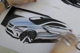 มาแล้วภาพสเก็ต Benz-A class.. โฉมใหม่นี้น่ามอง