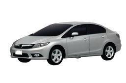 หลุดภาพสิทธิบัตร New! Honda Civic 2012 ยุโรป โฉมนี้ที่น่าจะมาไทย