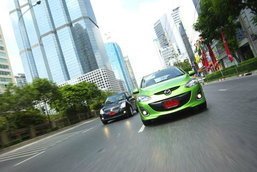 Mazda2 VS Suzuki Swift ...Hatch in your's heart