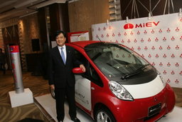 Mitsubishi อีโค่คาร์ยันได้ฤกษ์ปีหน้าพร้อมดันรถไฟฟ้าหวังลงตลาดไทย