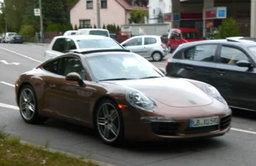 2012 Porsche 911 จับได้เต็มๆ ไร้การพรางตัว
