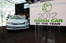 สุดเจ๋ง Honda Civic 2012 Natural Gas เข้าวินรถพลังขียว 2011