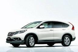 2012 Honda CR-V ..เปิดตัวอีกทีจากเวอร์ชั่นญี่ปุ่น