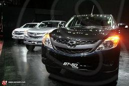 Mazda ออกตัวแรง 2012เปิดตัว Mazda BT- 50 Pro มั่นใจ ลูกค้าชอบ