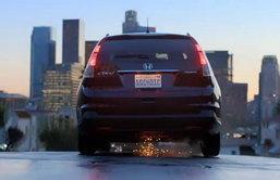Honda CR-V 2012 อวดโฉมในโฆษณาพร้อมลุยขับ 50 รัฐทั่วอเมริกา