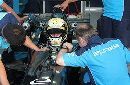 SANDY  ทดสอบรถ F3 ที่เซปังเซอร์กิต