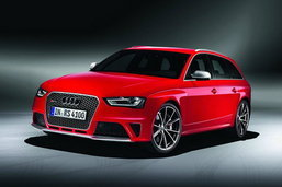 All New! Audi RS 4 Avant  เบ่งพลังครอบครัวด้วย V8 444 ม้า