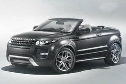 Range Rover Evoque Convertible เวอร์ชั่นเปิดหลังคาเตรียมโชว์ที่เจีวา