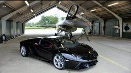 Aventador  เปรี้ยวจริง! ขอประชัน F- 16