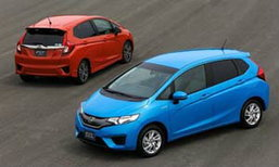 ตัวจริง! 2014 All-New Honda Jazz เผยโฉมอย่างเป็นทางการแล้ว