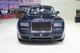 Rolls-Royce Phantom EWB Series II ราคา 42.5 ล้านบาทในงานมอเตอร์โชว์ 2014 - Motor Show 2014