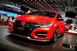 'Honda Civic Type R' ใหม่ เทียบชั้น 'A45 AMG'
