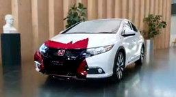 Honda เผยทีเซอร์ Civic Type R รุ่นล่าสุด พกความแรง 280 แรงม้า!
