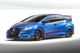 Honda เผยโฉม Civic Type R Concept II ก่อนเปิดตัวที่ปารีสมอเตอร์โชว์