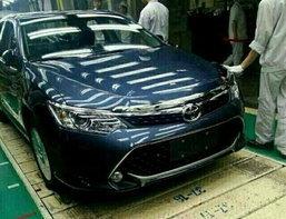 ภาพหลุด 'Toyota Camry 2015' ไมเนอร์เชนจ์จากโรงงาน